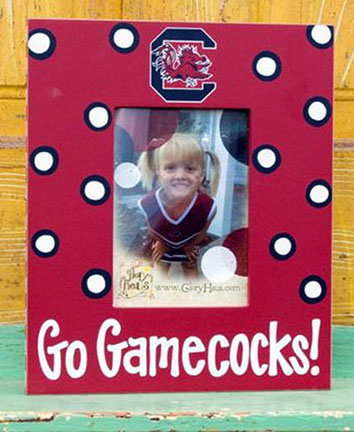Gamecock Picture Frame