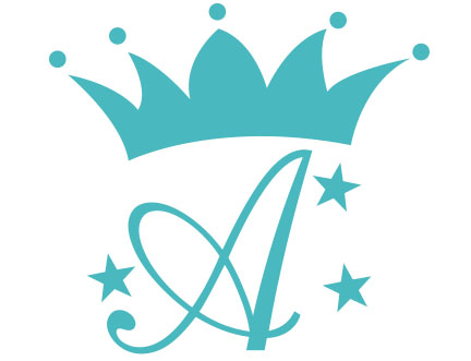 Crown Monogram Decal