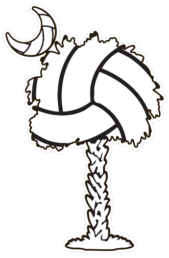 VolleyballDecal