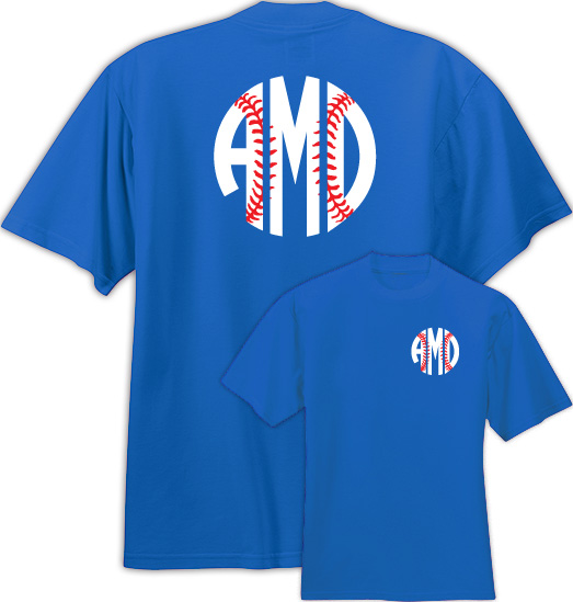 Baseball Monogram Shirt