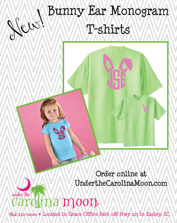 Bunny Ear Monogram T-shirt