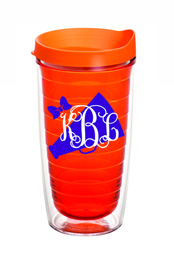 Preppy Cheer Monogram Tervis Tumbler