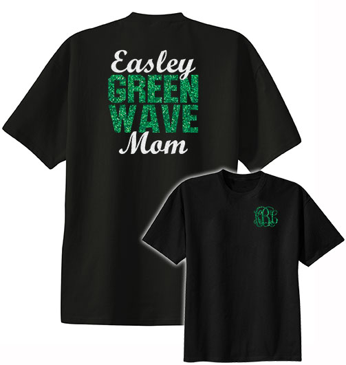 Easley Green Wave Mom