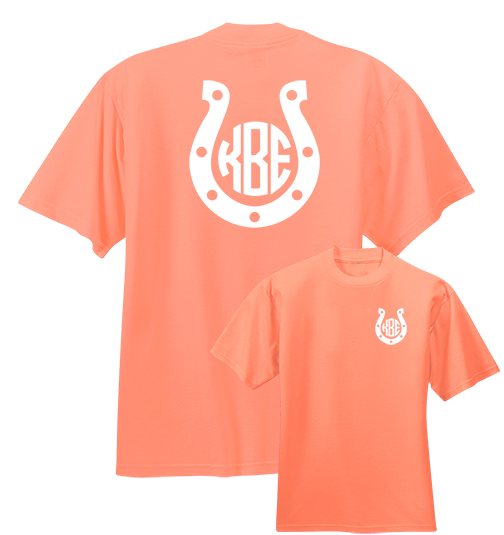 Horseshoe Monogram T-shirt