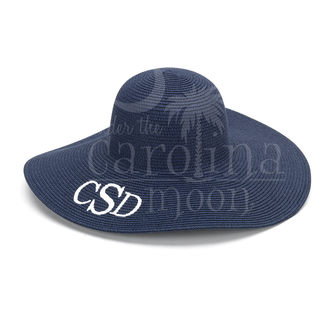 Preppy Sun Hat Navy