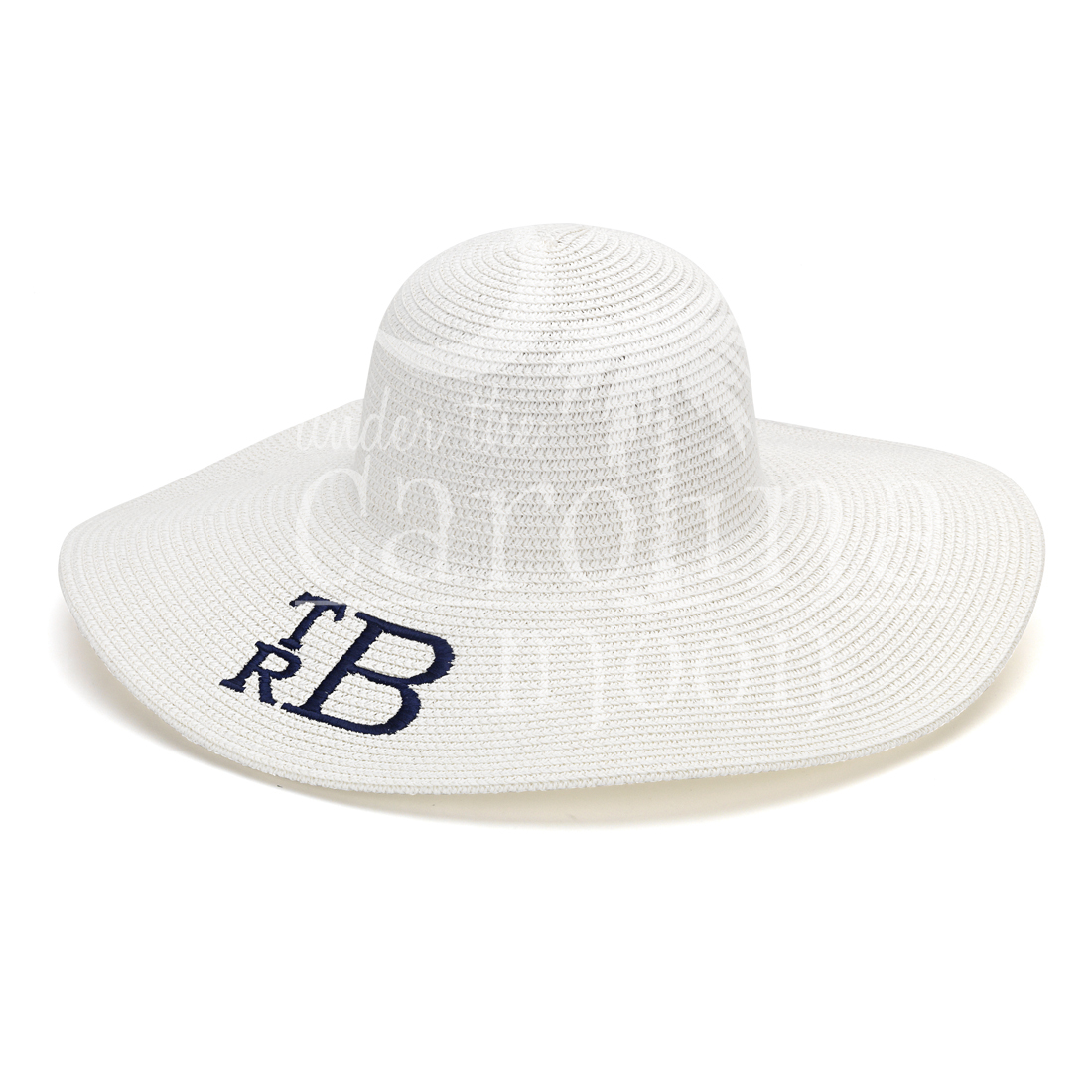 Preppy Sun Hat White