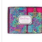 Lilly Pulitzer Lillys Lagoon Passport and Luggage Tag