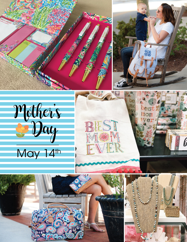 Mother's Day Shopping Made Easy!