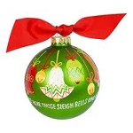 Sleigh Bells Ring-a-ling Ornament