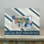 God Has Great Plans Picture Frame