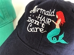 Mermaid Hair Don't Care Hat