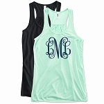 Monogram Racer Back Tank