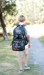 Woods Camo Backpack and Lunch Box Set
