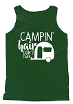Camping Hair Don't Care Tank
