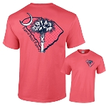 Coral Home Sweet Home T Shirt