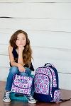 Mia Tile Backpack and Lunch Box Set