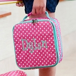 Pink Dottie Lunch Box