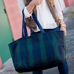 Plaid Ultimate Tote