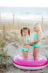 Mint Childrens Swimsuit Set