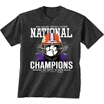 Faceguard Clemson National Championship Short Sleeve