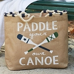 Paddle Your Own Canoe Tote
