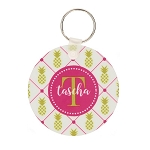 Pineapple Lattice Key Chain