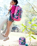 Posie Backpack and Lunch Box Set