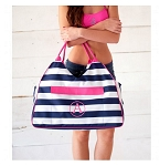 Prep Stripe Beach Bag