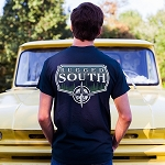 Short Sleeve Navy Rugged South™