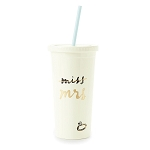 kate spade new york insulated tumbler - miss to mrs.