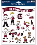 USC Gamecocks Family Decal Pack