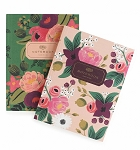 Rifle Paper Co. Vintage Blossom Set Of 2 Notebooks