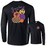 Scare-o-lina Girl® Witch-o-Lantern Long Sleeve
