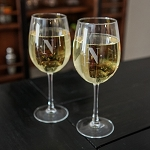 Stemmed Wine Glass Set of 4