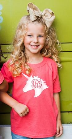 Unicorn Monogram T Shirt