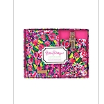 Lilly Pulitzer Wild Confetti Passport and Luggage Tag