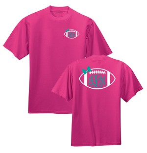 Preppy Football Monogram Shirt