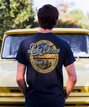 Livin' on Lake Time  T-shirt