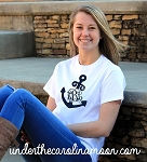 Center Vines Anchor Monogram T-shirt