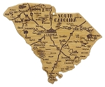Destination South Carolina Cutting Board