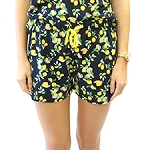 Lemon Drop Dreams Pajama Shorts