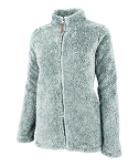 Women's Newport Full Zip Grey Fleece Jacket