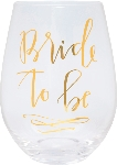 Bride to Be - Jumbo Stemless Wine Glass