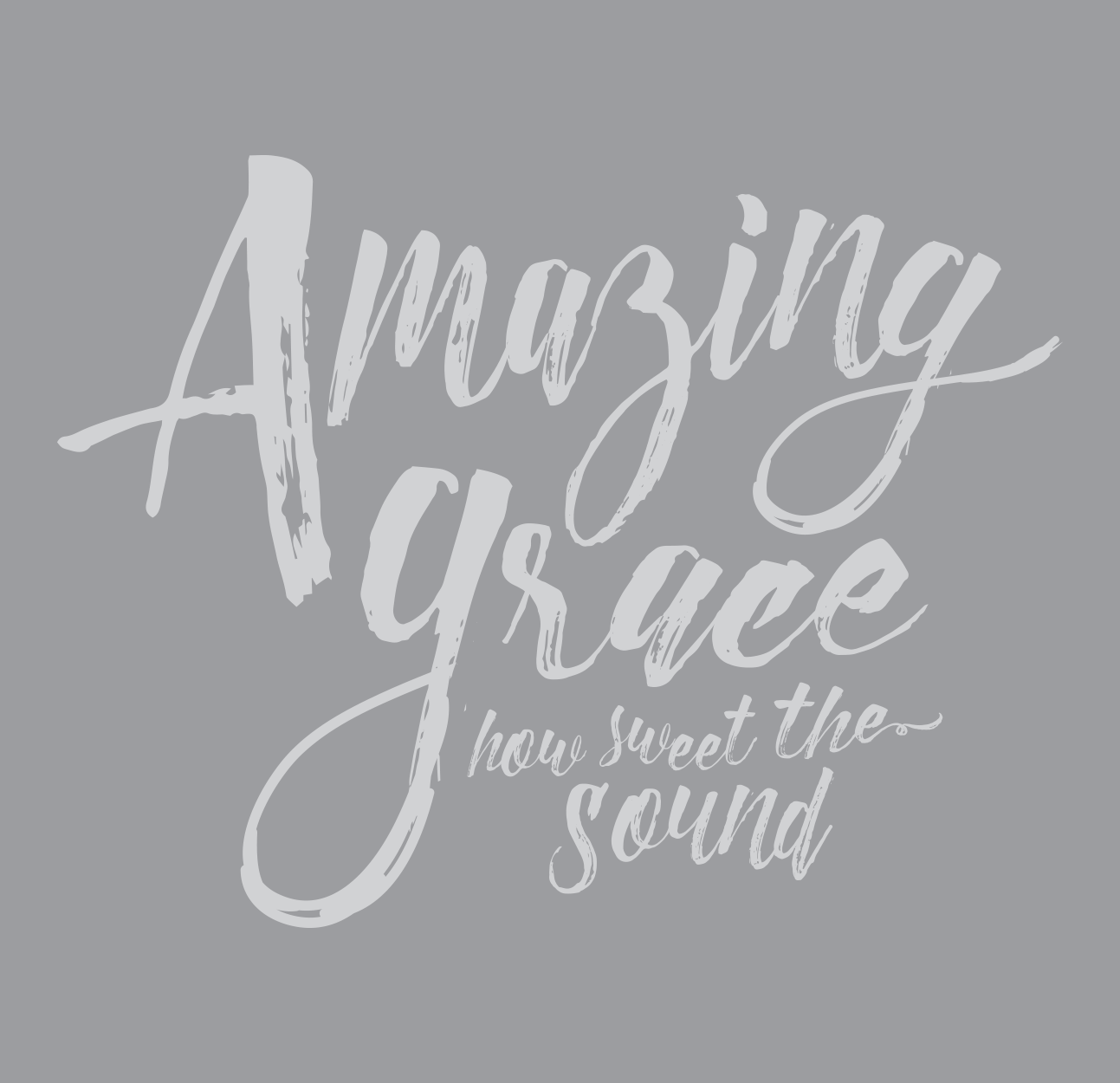 Because Of Grace® Amazing Grace