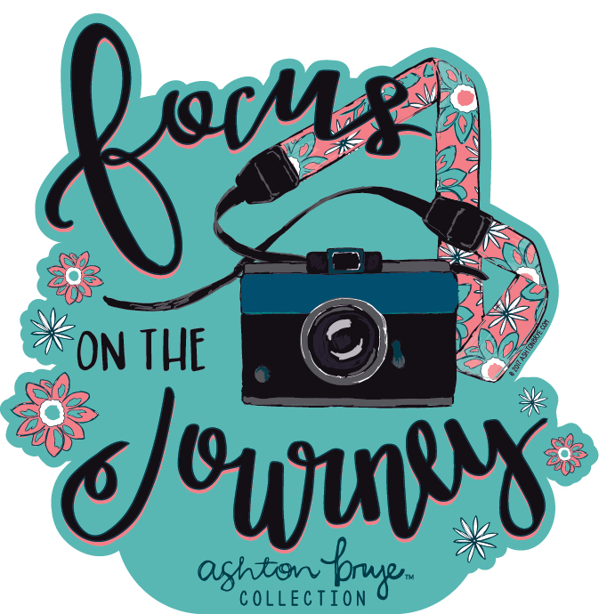 Ashton Brye™ Focus on the Journey Decal