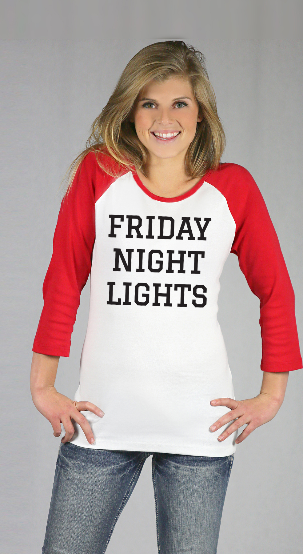 Friday Night Lights Raglan