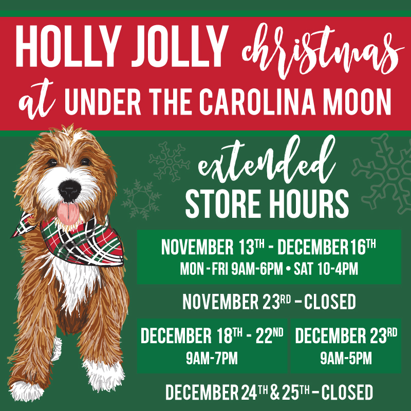 Extended Holiday Hours Start Monday!