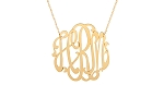 Cheshire Monogram Necklace - 24