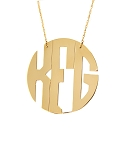 Hampton Monogram Necklace - 16