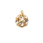 Moon and Lola Rhinestone Ball Charm